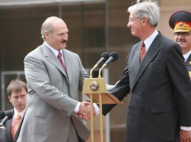 President of the Republic of Belarus and IOM Director General