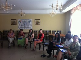 "Training ""PECULIARITIES OF WORKING WITH CHILDREN – VICTIMS OF VIOLENCE"""