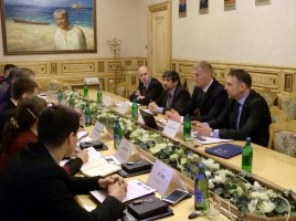 PRINEX Project Meeting – IOM Delegation (Kyiv, Ministry of Revenue and Duties of Ukraine, April 25, 2014)