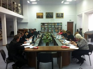 Meeting of the Multi-Disciplinary Task Force, April 9, 2014, Mogilev