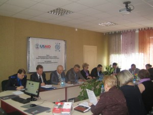 Meeting of the Multi-Disciplinary Task Force, May 29, 2014, Grodno
