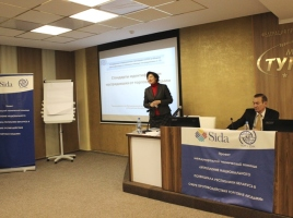 Training on standard operating procedures in Mogilev, 19-20 November 2014