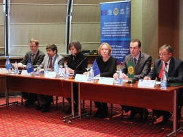 IOM Participates in Press-Conference on Issues of Irregular Migration
