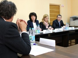 Meeting with state executive authorities and managers of Temporary Centre for Asylum-Seekers