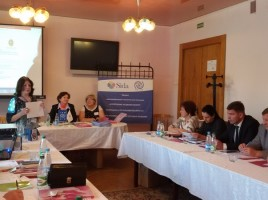 Brest Hosts Seminar on Reintegration Assistance with Gender-based Approach