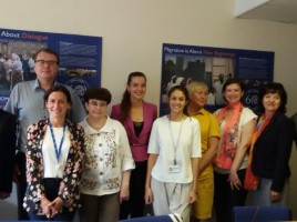 IOM Minsk Organizes Study Trip to UK on National Referral Mechanism