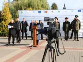 Photo: IOM Belarus, Equipment handover ceremony, Pinsk