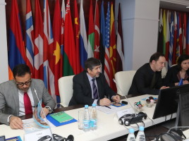 Meeting of IOM and MoI representatives at the International Training Center on Migration and Combatting Human Trafficking