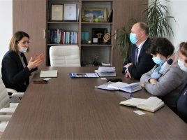 Migration, health and development: the Chief of Mission of IOM Belarus met with the Deputy Minister of Health